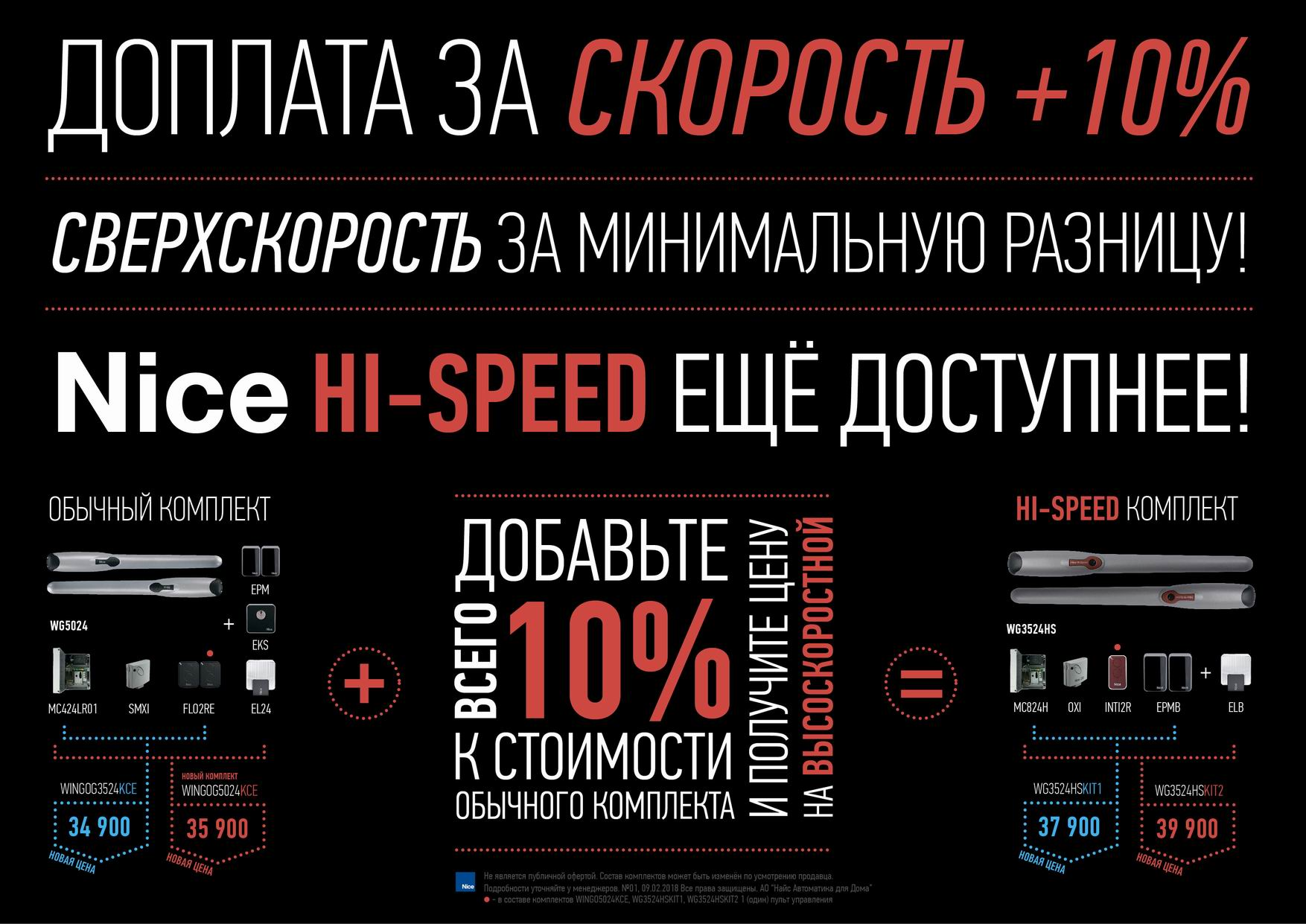 HISPEED Nice 10